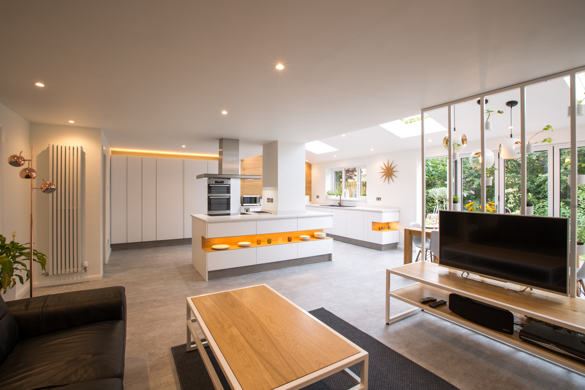 Residential Living Space Kitchen Design Cheshire